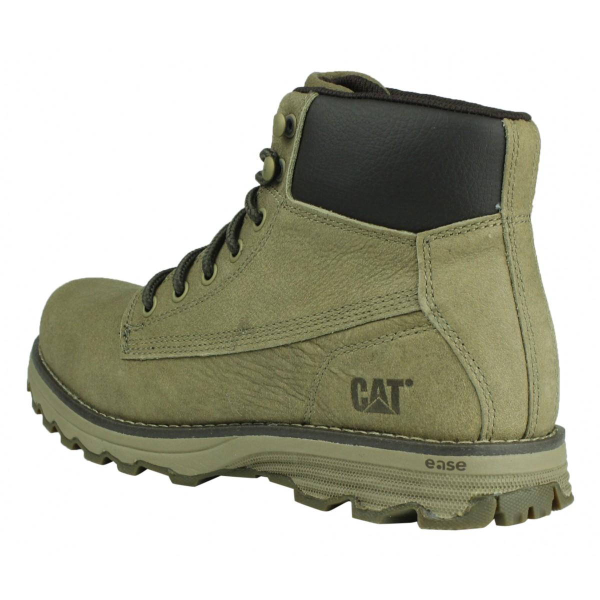 Caterpillar Werkschoenen.Caterpillar P721671 Intake Bruin Heren Schoenen Leer Cat